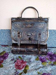 Dekorácie - Poštová schránka - s dvojprackou malá - 12329174_