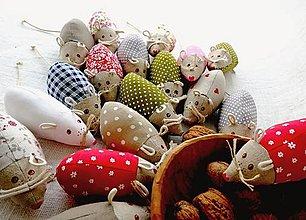 Hračky - FILKI myška - 12329419_