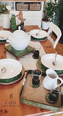 "Pomôcky - Set k stolovaniu ,,Zelená záhrada"" - 12330325_"
