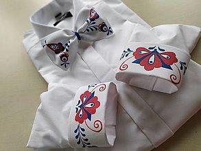 Oblečenie - Maľovaná košeľa - 12329491_