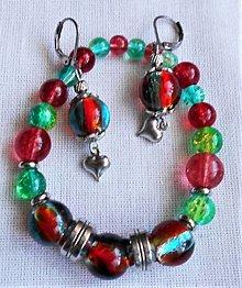 Sady šperkov - Dúhové kamienky - 12331879_