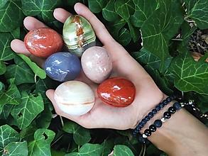 Nezaradené - Yoni vajíčka (Červený jaspis) - 12332373_
