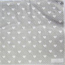 Papier - Servítka  G 120 -Penny Grey Large - 12333716_