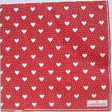 Papier - Servítka  G 121- Penny Red Large - 12333730_
