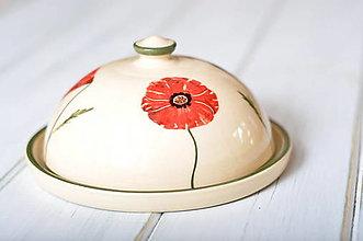 Nádoby - Maselnička- Vlčí mak - 12331327_