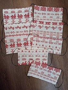 Rúška - Bavlnené rúško Čičmany - 12331368_