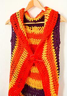 Iné oblečenie - Slnečná vesta... zľava 5,- eur - 12336741_
