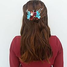 """Ozdoby do vlasov - Hrebienok """"Elza"""" - 12335922_"""