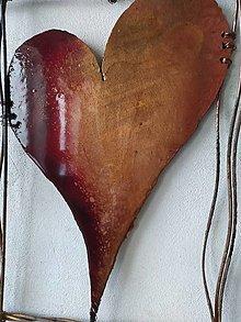 Dekorácie - Srdce  BraveHeart I  MMXX PREDANÉ - 12336449_
