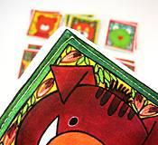 Hračky - Textilné pexeso  (Zvieratká z lesnej tône) - 12335654_