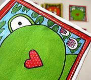 Hračky - Textilné pexeso  (Zvieratká z lesnej tône) - 12335657_