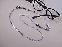 Iné šperky - Swarovski - retiazka na okuliare - chirurgická oceľ - 12336849_