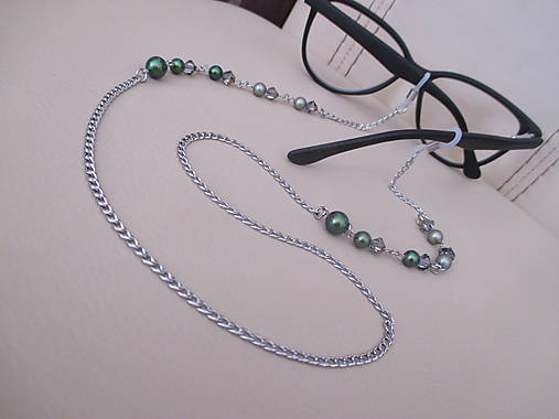 Swarovski - retiazka na okuliare - chirurgická oceľ