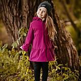 Detské oblečenie - Detská softshell bunda s volánmi - lollipop - 12337255_