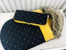 Textil - Zimný fusák pre bábätko - 12334901_
