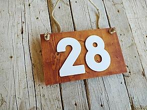 Tabuľky - Popisné číslo: Drievko - 12335806_