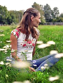 Tričká - Tričko Blossom Rosee - 12334404_