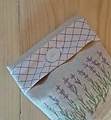 """Drobnosti - vrecúško z ručne tkaného ľanového plátna """"vankúšik"""" - 10788100_"""