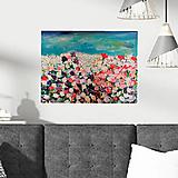 Obrazy - Lúka plná kvetov - 12336047_