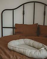 Textil - Béžové hniezdo - 12336737_