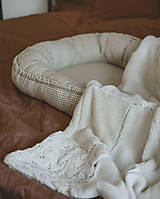 Textil - Béžové hniezdo - 12336743_