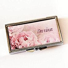 Krabičky - 7 dílková liekovka Pivonka -text na želanie - 12335551_