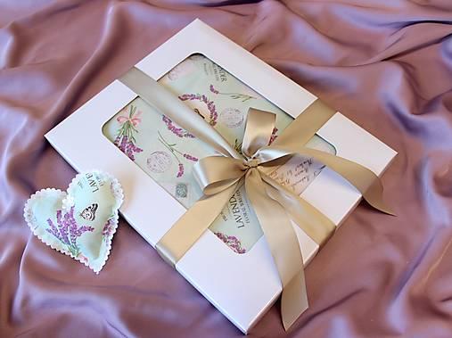 Darčekové balenie na zásterku