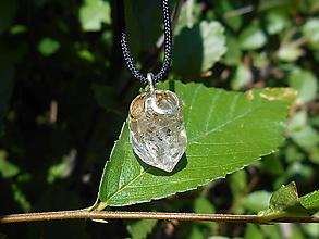 Náhrdelníky - diamond cristall in silver-krištáľ- - 12340572_