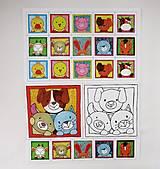 Hračky - Pexeso papierové (Zvieratká z dvora) - 12340525_