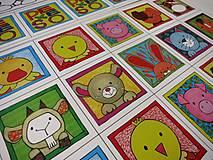 Hračky - Pexeso papierové (Zvieratká z dvora) - 12340526_