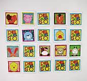 Hračky - Pexeso papierové (Zvieratká z dvora) - 12340528_