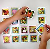 Hračky - Pexeso papierové (Zvieratká z dvora) - 12340530_