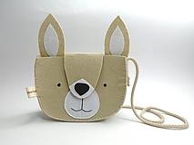 Detské tašky - Moje obľúbené zvieratko: zajac - 12338714_