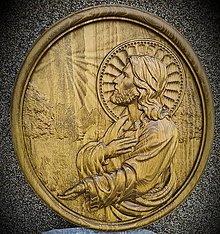 Obrazy - Drevorezba Jesus - 12338959_