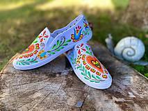 Obuv - ♥ Ručne maľované tenisky ♥ - 12337522_
