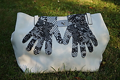 Rukavice - Rukavičky - Čipkovaný vzor - 12339915_