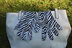 Rukavičky - Zebra