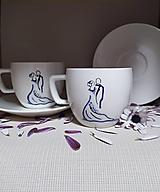Nádoby - Šálky pre novomanželov - 12339513_