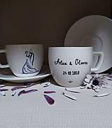 Nádoby - Šálky pre novomanželov - 12339514_