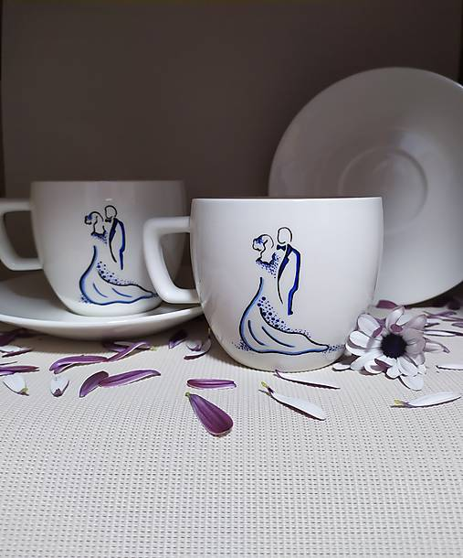 Šálky pre novomanželov