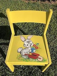 Nábytok - Stolička pre deti - 12337650_