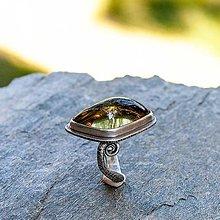 Prstene - Strieborný prsteň - Chápadlo - 12342917_