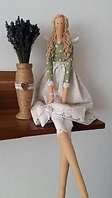 Bábiky - Anjelka - Tilda - 12341684_