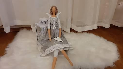 Anjelka - Tilda, vyrobená na objednávku