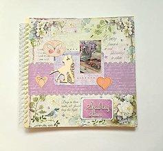 Papiernictvo - Fotoalbum 30x30 cm MAXI album  rodinný album svadobný album - 12342321_