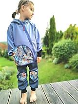 """Detské oblečenie - Softshellka """"na modrej lúke"""" - 12344145_"""