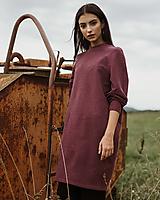 Šaty - Šaty Bordo - 12341078_