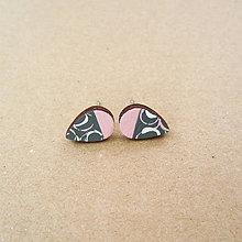 Náušnice - mini slzičky (V) - 12343025_