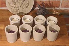 Svietidlá a sviečky - Nedokonalé dokonalé betónové svietniky - 12341488_