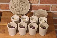 Svietidlá a sviečky - Nedokonalé dokonalé betónové svietniky - 12341492_